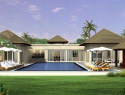 Contoh Desain Rumah Mewah Dengan Kolam Renang